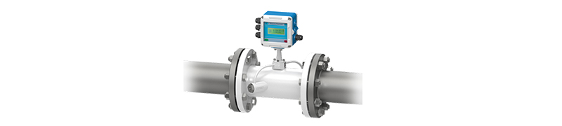 Fixed integrated ultrasonic flowmeter 2